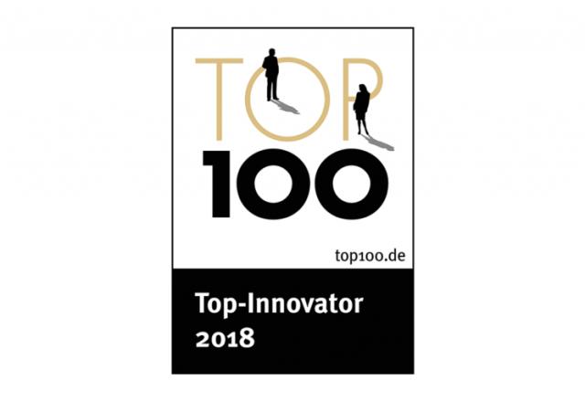 """Nagroda """"Top 100 Innovator 2018"""" dla Schwank GmbH."""