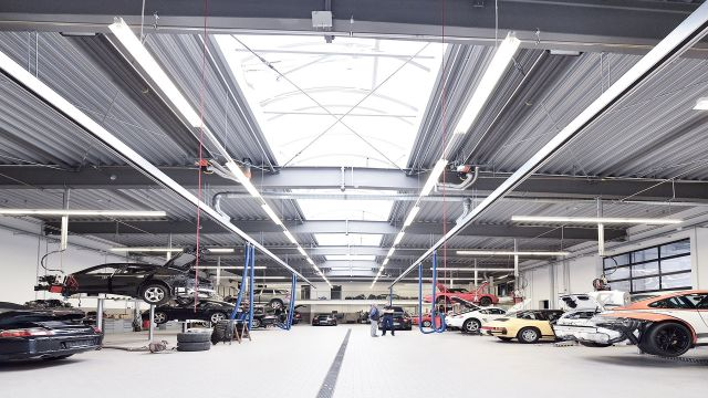 Efficient showroom heating systems