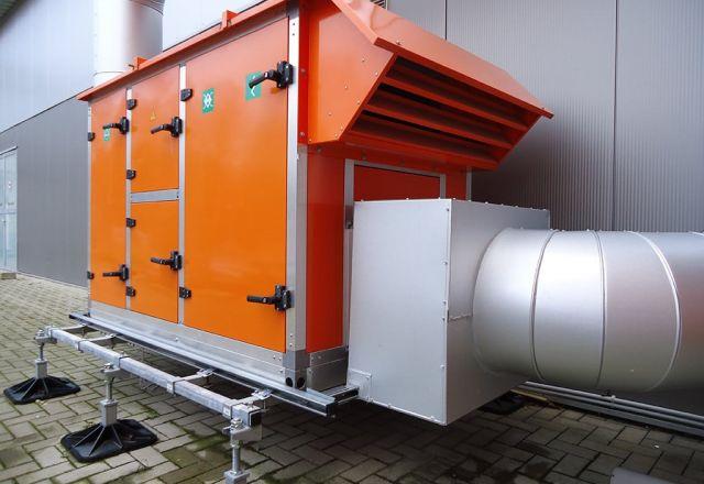 Zdjęcie produktu hybrydowego systemu kondensacyjnego hybridSchwank aero.