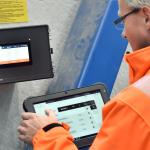 System sterowania SchwankControl Touch do systemów grzewczych firmy Schwank w użyciu
